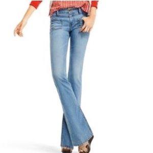 CAbi Malibu Flare Jeans Light Denim Style #223L